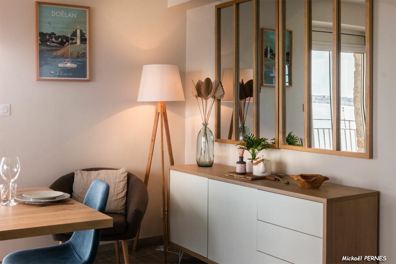 Appartement à louer 2 65m2 à Larmor-Plage vignette-4