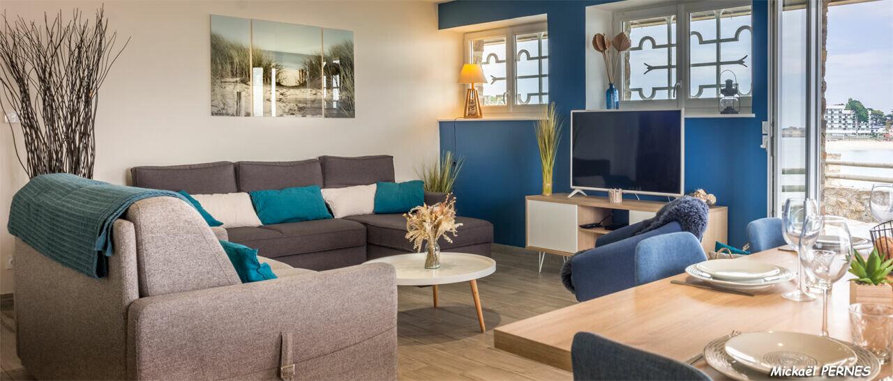 Appartement à louer 2 65m2 à Larmor-Plage vignette-5