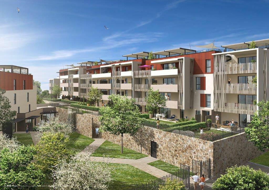 Appartement à vendre 3 61.69m2 à Fréjus vignette-2