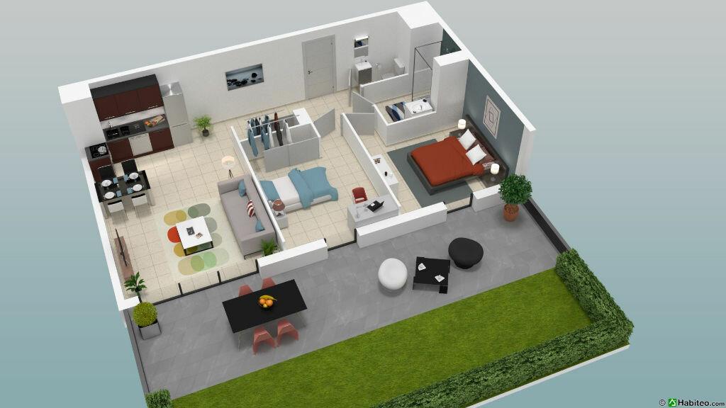 Appartement à vendre 3 61.69m2 à Fréjus vignette-3