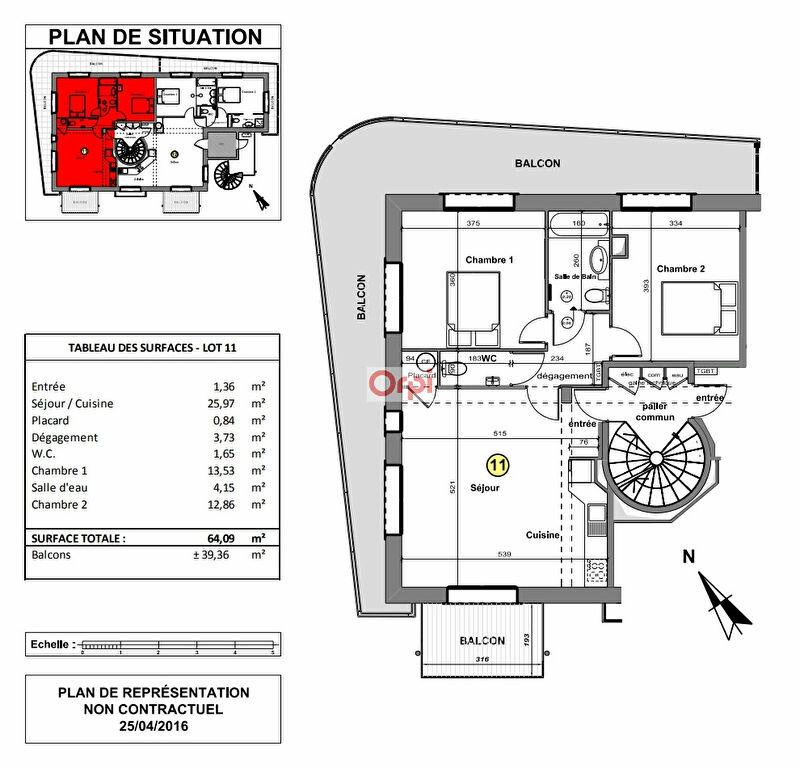Appartement à vendre 3 62.23m2 à Fréjus vignette-9