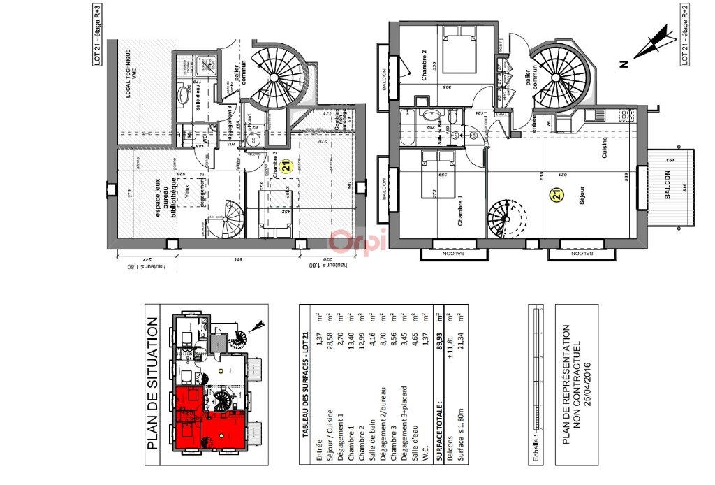 Appartement à vendre 5 102.47m2 à Nancy vignette-10