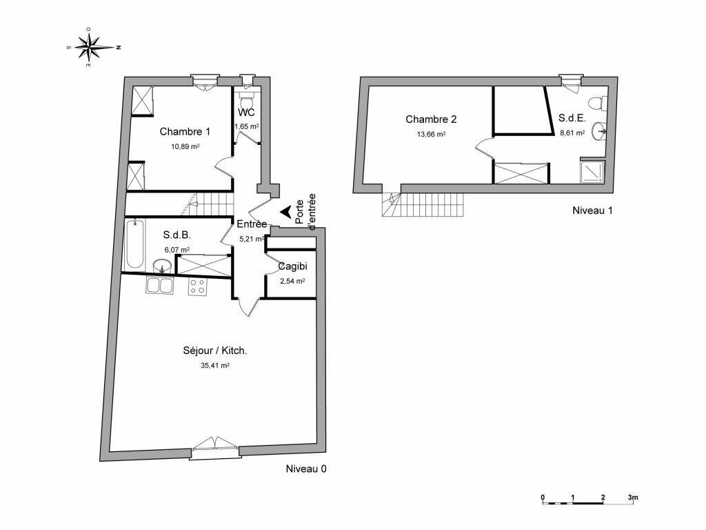 Appartement à louer 3 84.04m2 à Pézenas vignette-8
