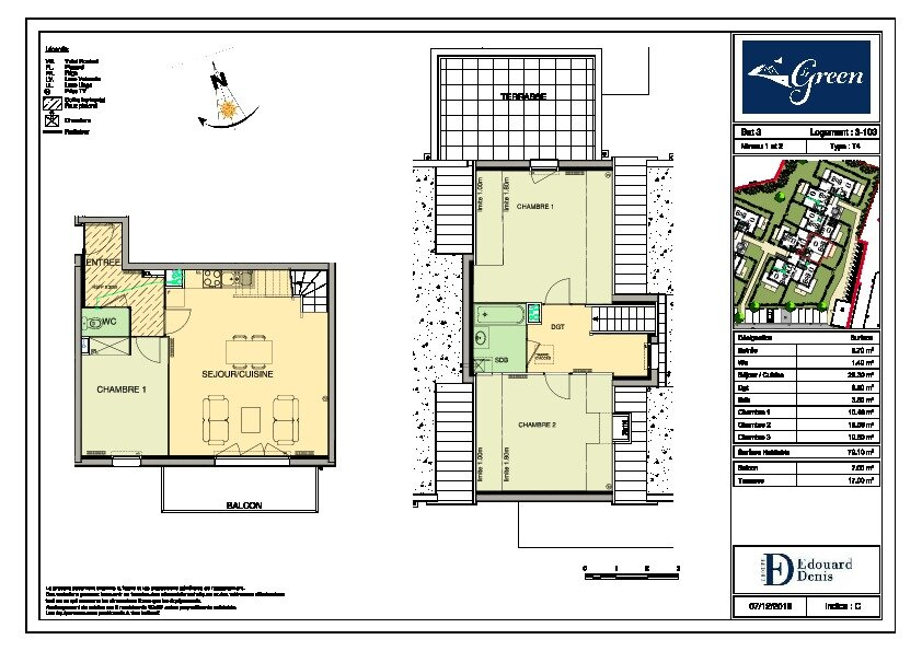 Appartement à vendre 4 79.1m2 à Wimereux vignette-2