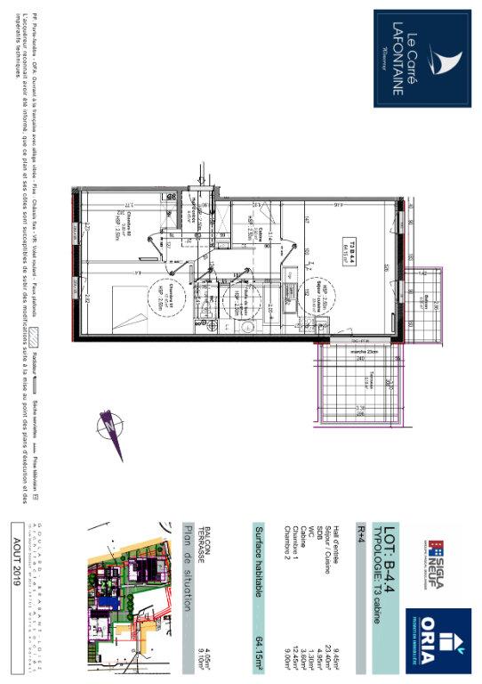 Appartement à vendre 3 64.15m2 à Wimereux vignette-2
