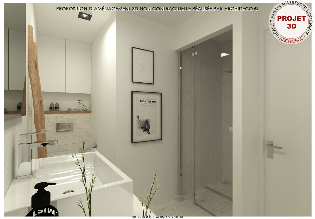 Appartement à vendre 2 32m2 à Boulogne-sur-Mer vignette-5