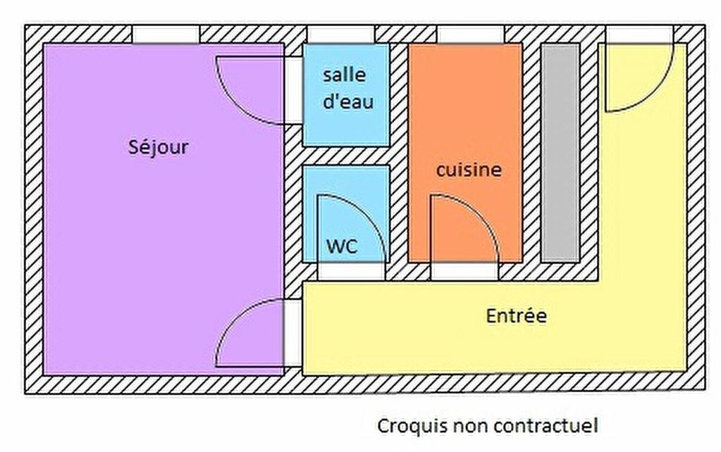 Appartement à louer 1 29.56m2 à Paris 14 vignette-5