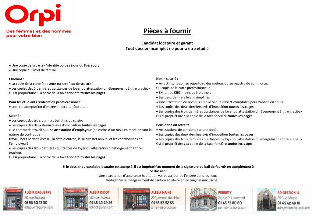 Appartement à louer 1 29.56m2 à Paris 14 vignette-6