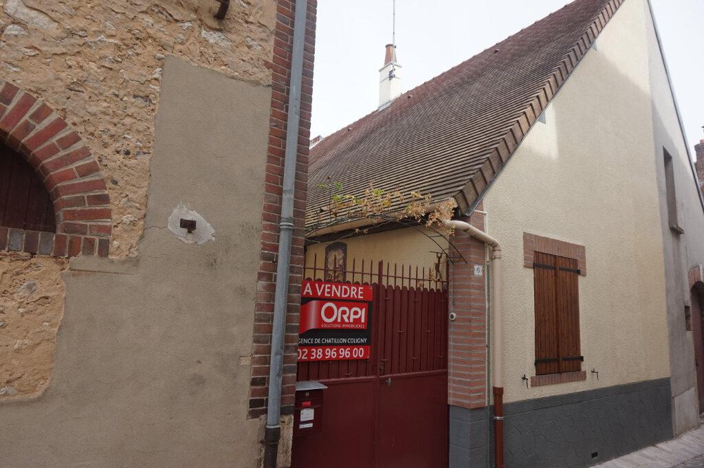 Maison à vendre 4 60m2 à Châtillon-Coligny vignette-9