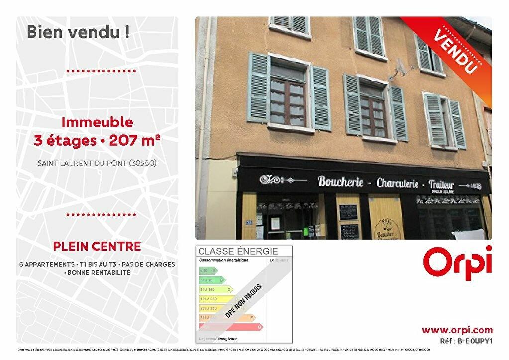 Immeuble à vendre 0 207m2 à Saint-Laurent-du-Pont vignette-1
