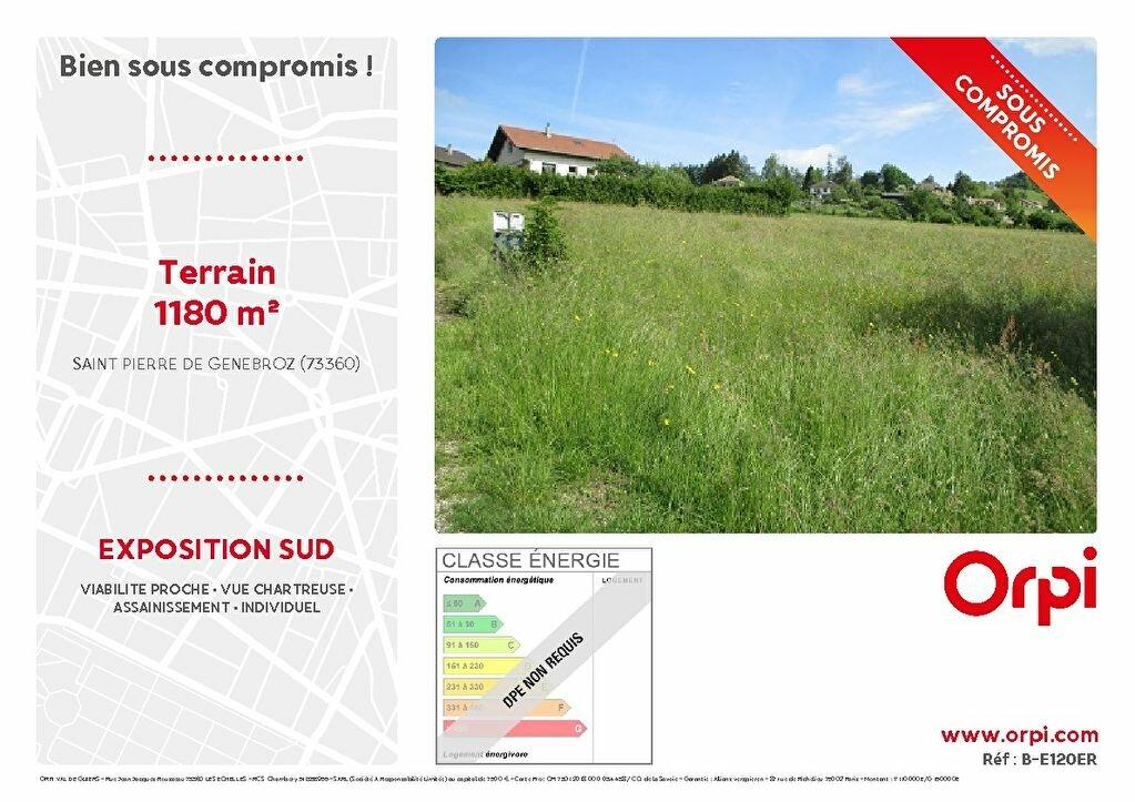 Terrain à vendre 0 1180m2 à Saint-Pierre-de-Genebroz vignette-1