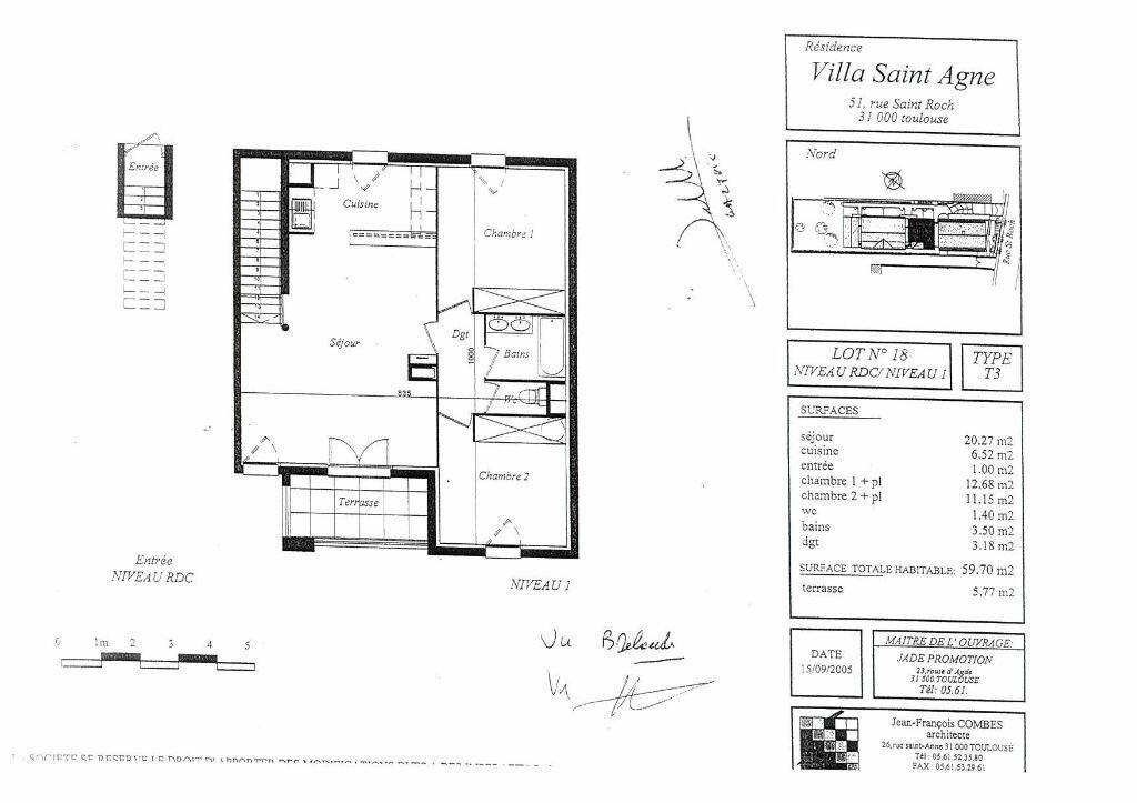 Appartement à louer 3 60m2 à Toulouse vignette-5