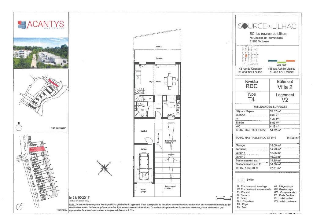 Maison à vendre 4 114.28m2 à Toulouse vignette-3