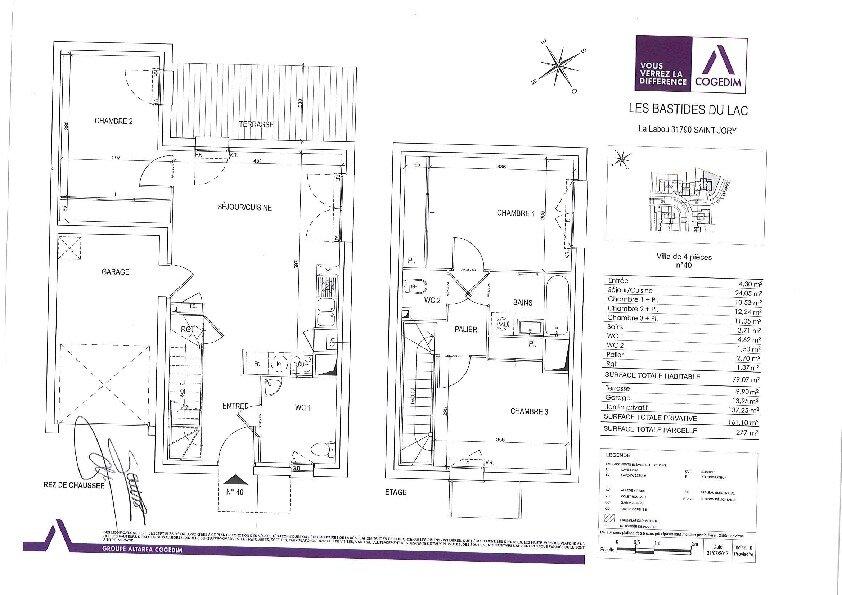 Maison à louer 4 79.07m2 à Saint-Jory vignette-5