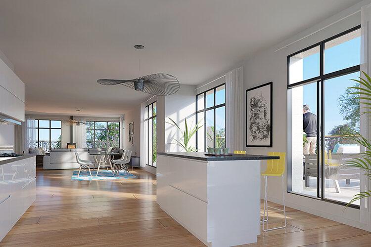 Appartement à vendre 4 96.96m2 à La Varenne - Saint-Maur-des-Fossés vignette-2