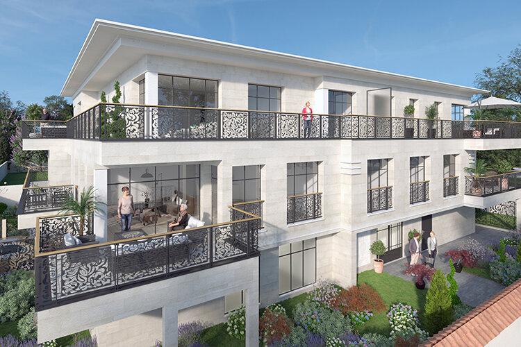 Appartement à vendre 4 124.39m2 à La Varenne - Saint-Maur-des-Fossés vignette-1