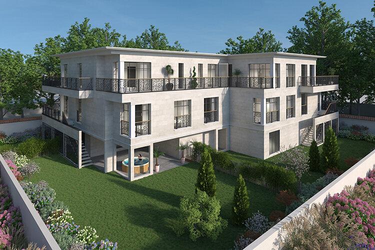 Appartement à vendre 4 124.39m2 à La Varenne - Saint-Maur-des-Fossés vignette-4