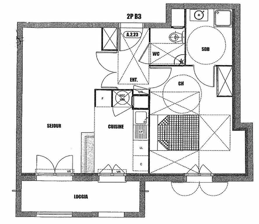 Appartement à louer 2 47.3m2 à Villiers-sur-Marne vignette-8