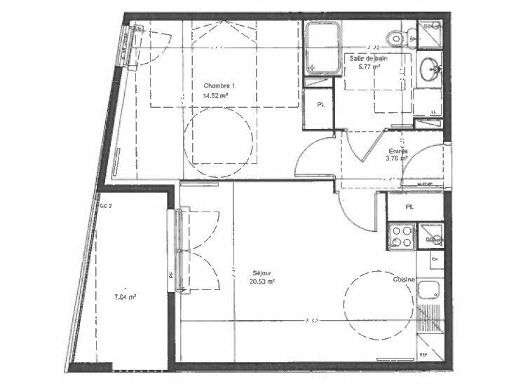 Appartement à louer 2 44.58m2 à Villiers-sur-Marne vignette-6