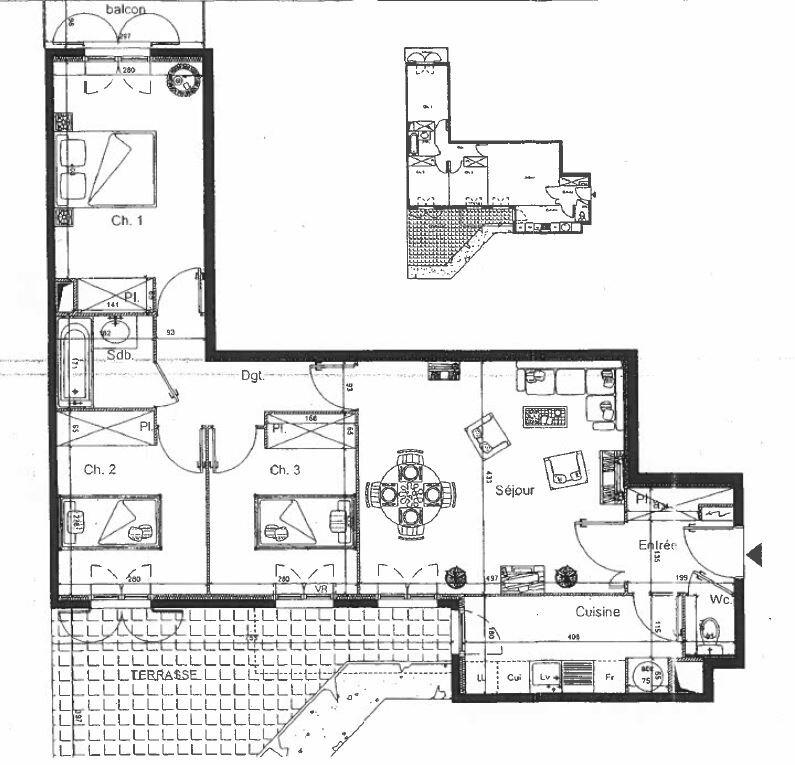 Appartement à louer 4 72.35m2 à Noisy-le-Grand vignette-11