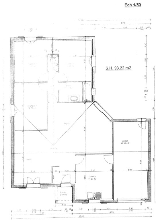 Maison à louer 4 93m2 à Périgny plan-1