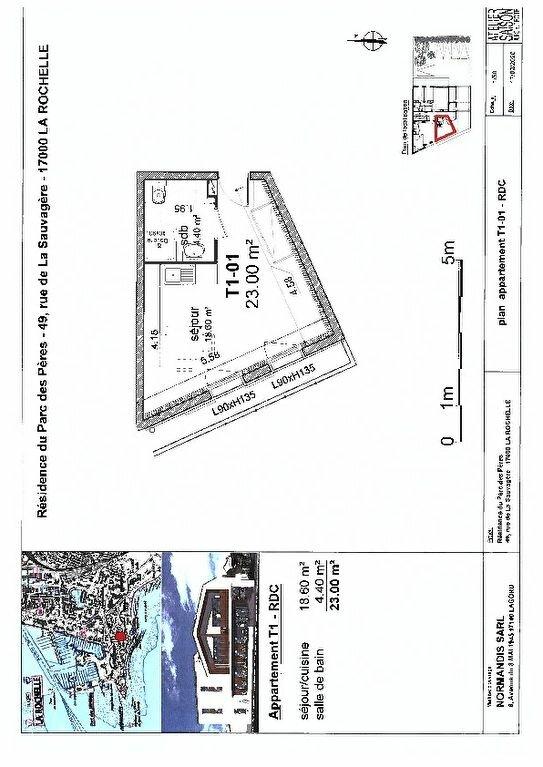 Appartement à vendre 1 23m2 à La Rochelle vignette-1