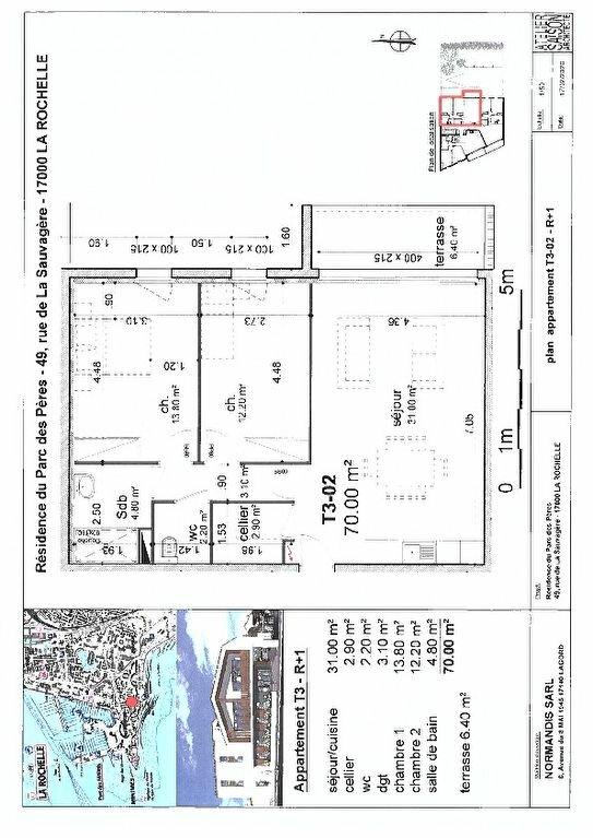 Appartement à vendre 3 70m2 à La Rochelle vignette-1