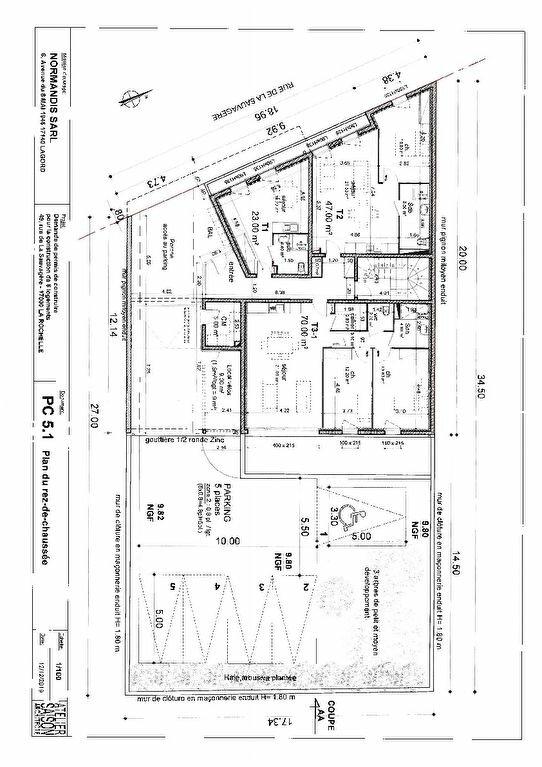 Appartement à vendre 3 70m2 à La Rochelle vignette-2