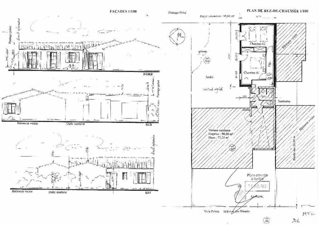 Maison à vendre 5 100m2 à Saint-Clément-des-Baleines plan-1
