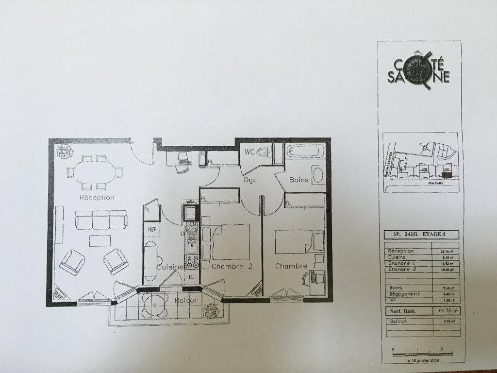 Appartement à vendre 3 64.76m2 à Lyon 9 vignette-7