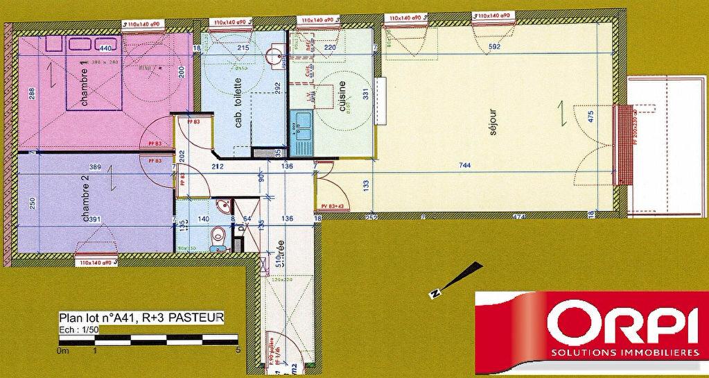 Appartement à vendre 3 77.1m2 à Évreux vignette-9