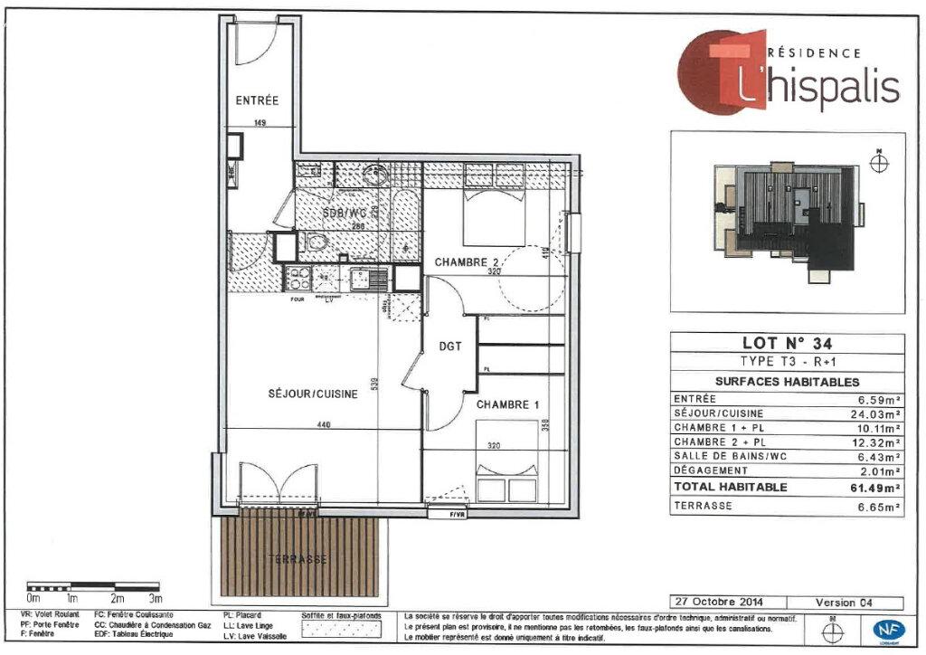 Appartement à louer 3 61.49m2 à Toulouse vignette-9