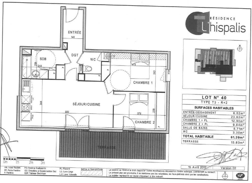 Appartement à louer 3 61.39m2 à Toulouse vignette-4
