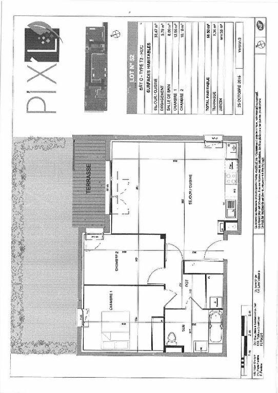 Appartement à louer 3 68.5m2 à Seysses vignette-7