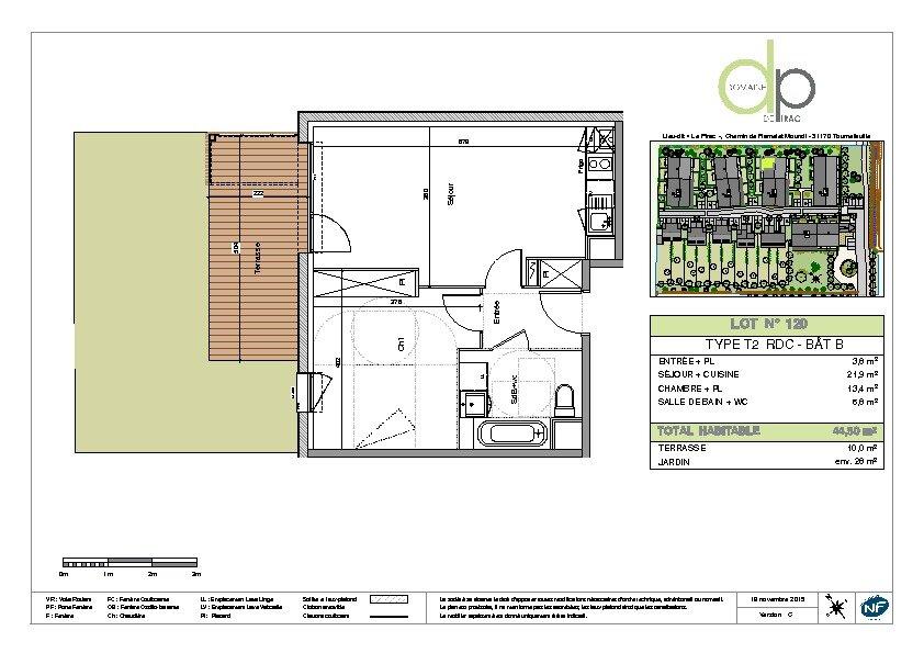 Appartement à louer 2 44.5m2 à Tournefeuille vignette-7