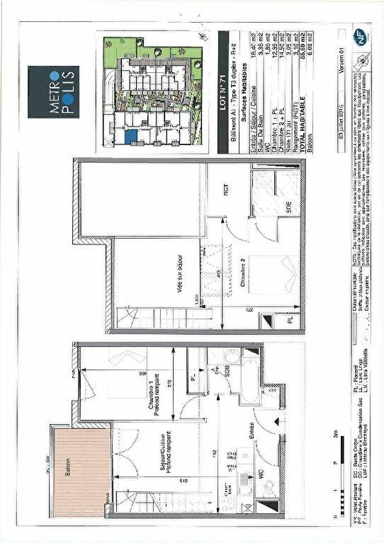 Appartement à louer 3 56.6m2 à Toulouse vignette-1