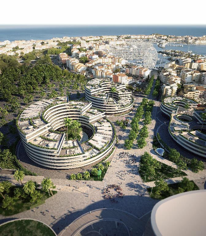 Appartement à vendre 1 32.2m2 à Le Cap d'Agde - Agde vignette-7