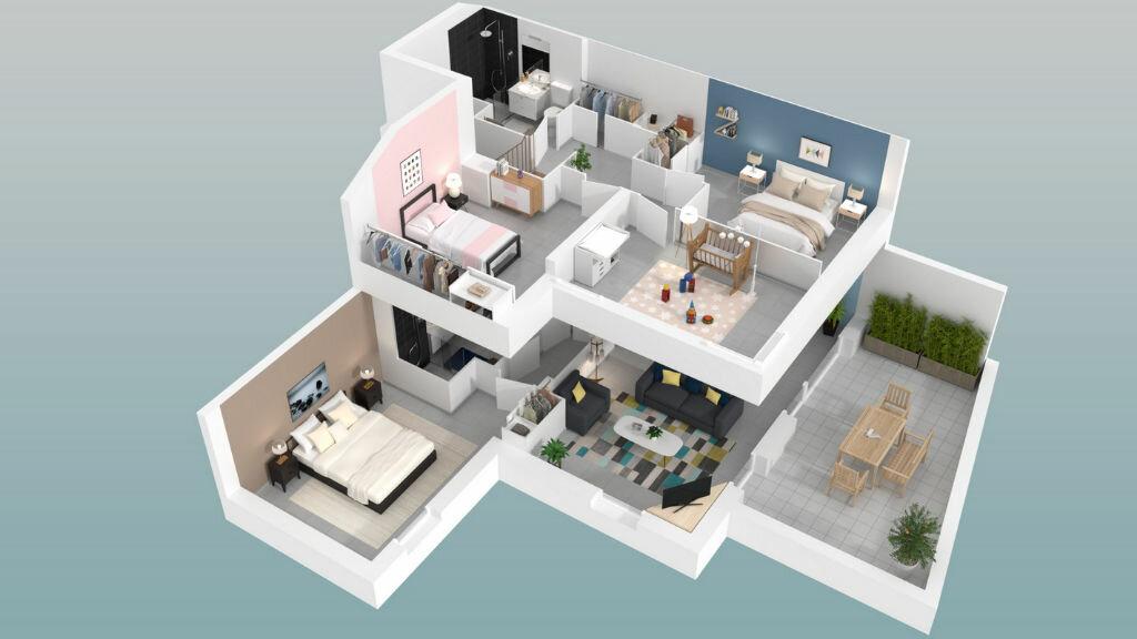 Appartement à vendre 3 57m2 à Marseillan vignette-4
