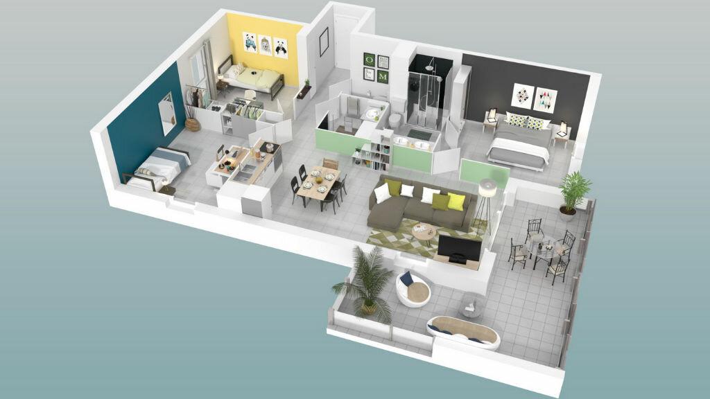 Appartement à vendre 3 57m2 à Marseillan vignette-6