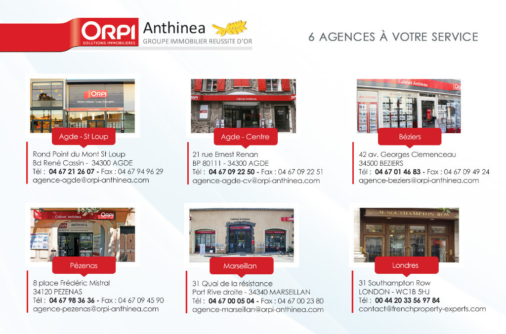 Appartement à vendre 1 19m2 à Marseillan vignette-6