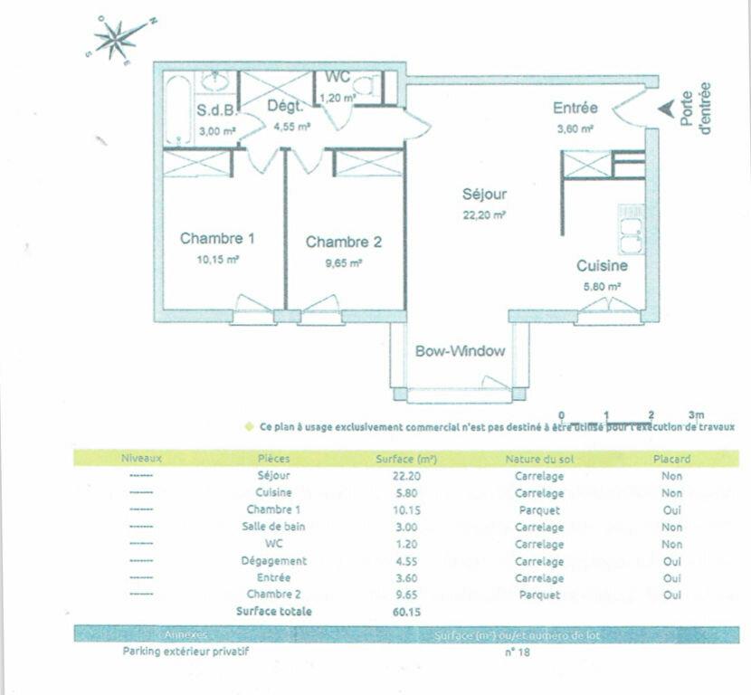 Appartement à louer 3 60.15m2 à Brest vignette-11
