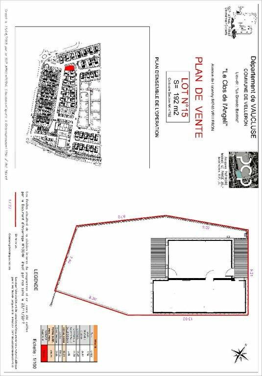 Maison à vendre 3 60.04m2 à Velleron plan-1