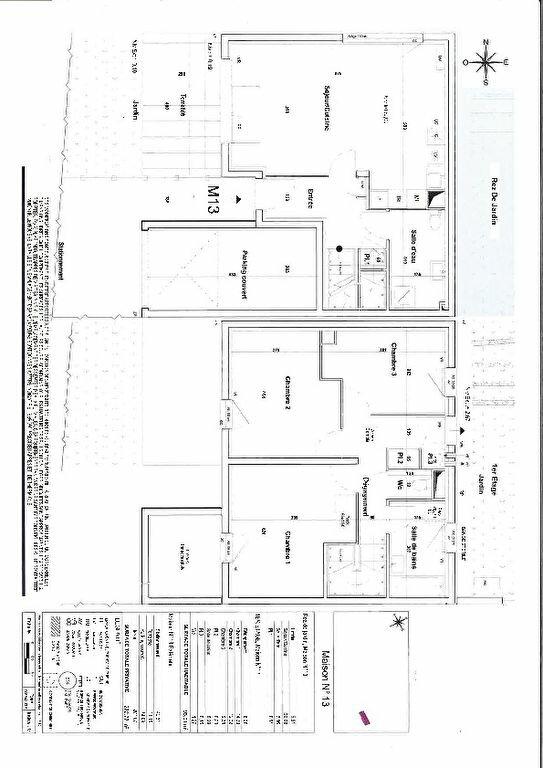 Appartement à vendre 4 93m2 à Gardanne plan-1