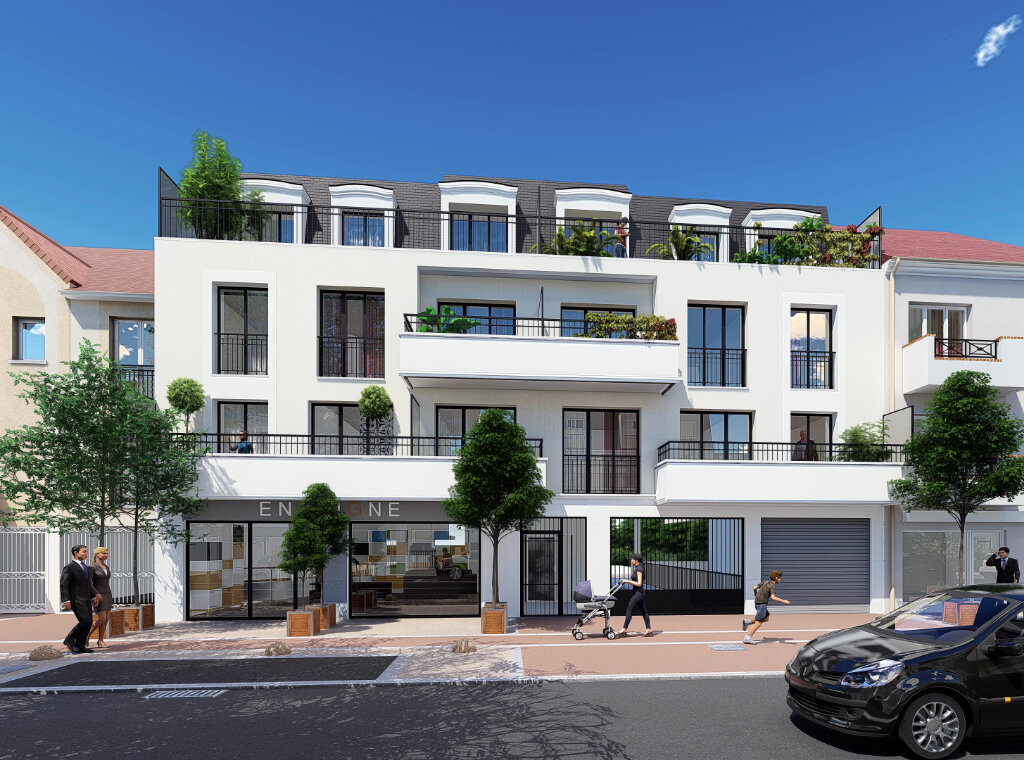 Appartement à vendre 2 56m2 à Sainte-Geneviève-des-Bois vignette-1