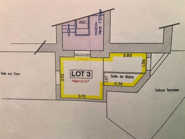 Appartement à vendre 1 25m2 à Périgueux vignette-5