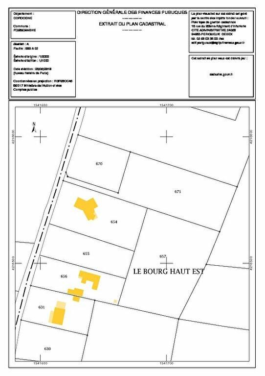 Terrain à vendre 0 3505m2 à Fossemagne vignette-1