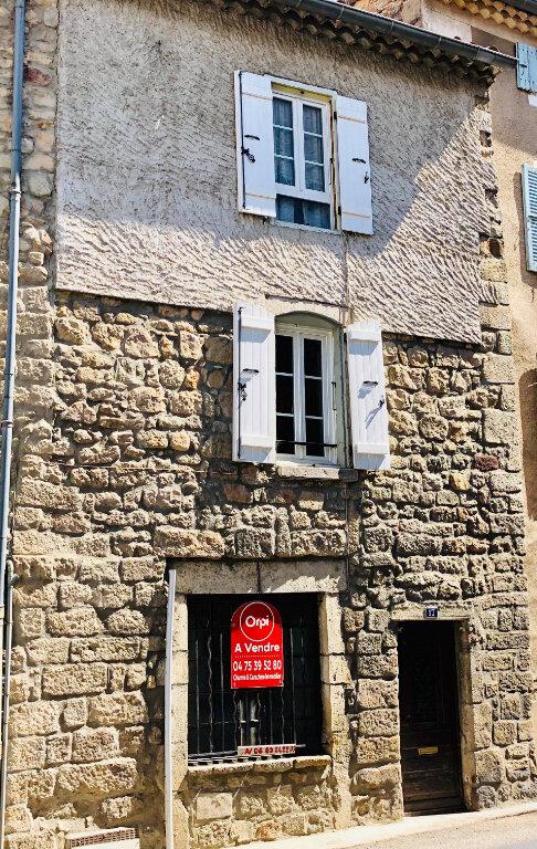Maison à vendre 3 53m2 à Largentière vignette-1