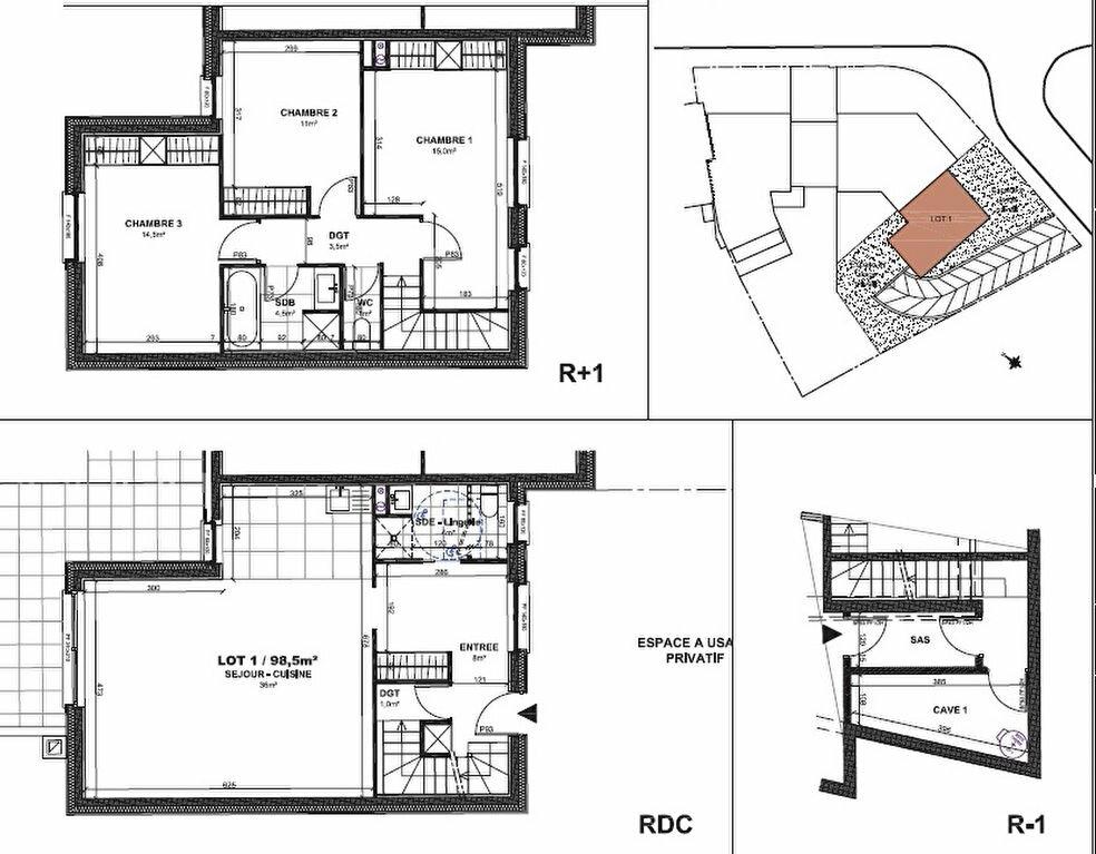 Appartement à vendre 4 98.5m2 à Gif-sur-Yvette vignette-2