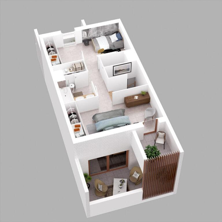 Appartement à vendre 3 55.8m2 à Montpellier vignette-3