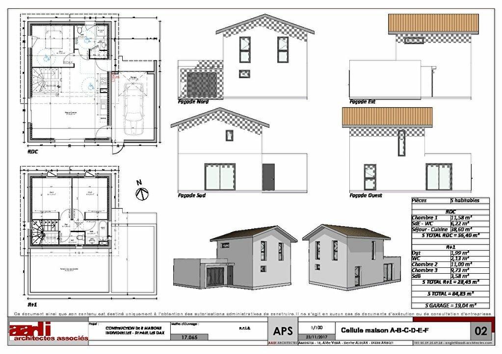 Maison à vendre 4 84.83m2 à Saint-Paul-lès-Dax plan-1